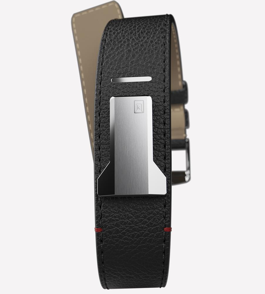 STRAIGHT STRAP -  BLACK GRANOLO