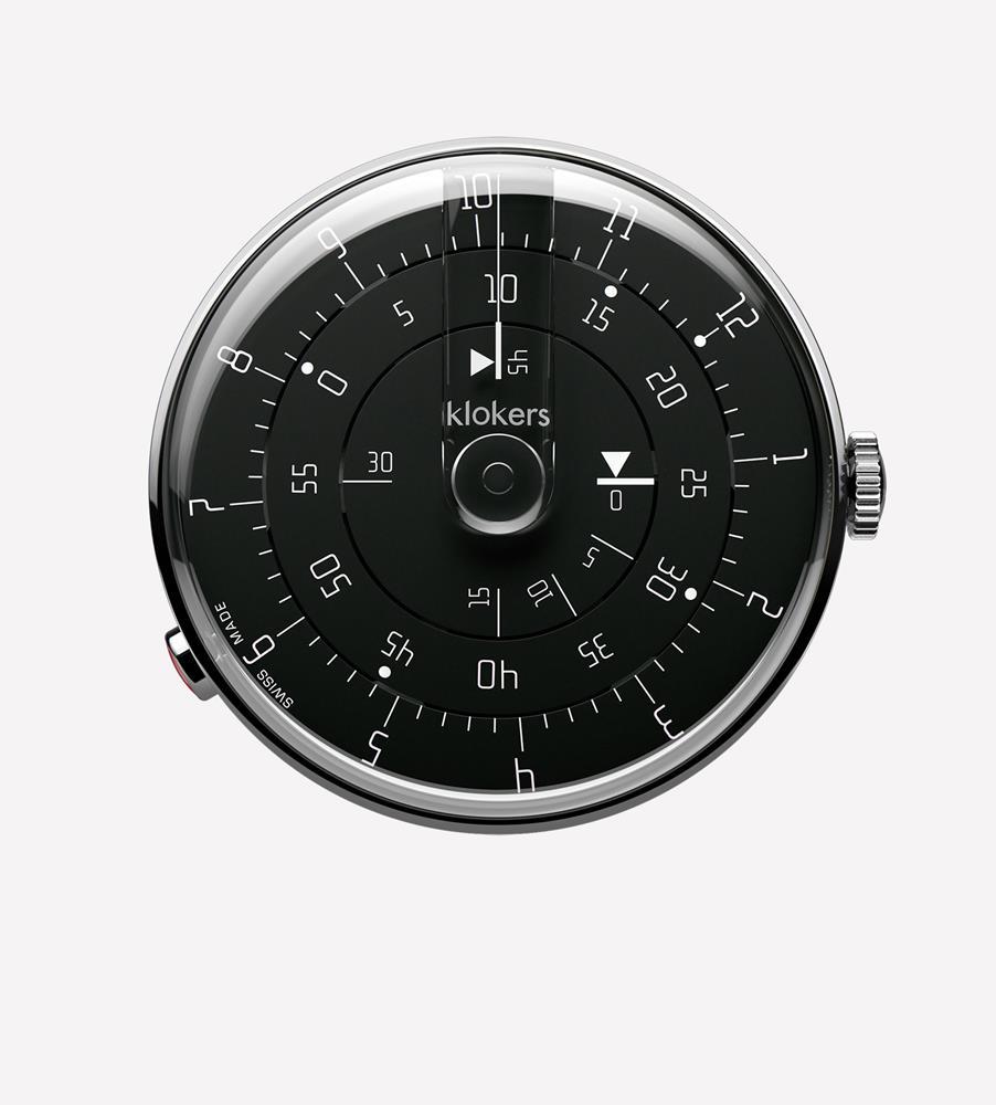 KLOK-01 MINIMAL Black